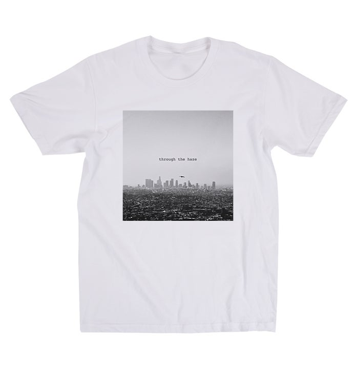 Image of Through the Haze Tee (BW)