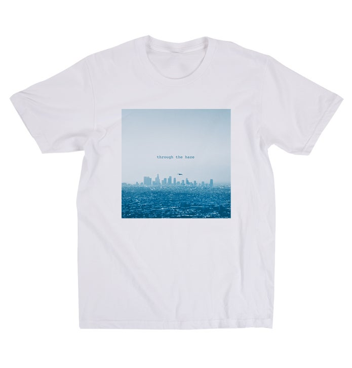 Image of Through the Haze Tee (Blue)
