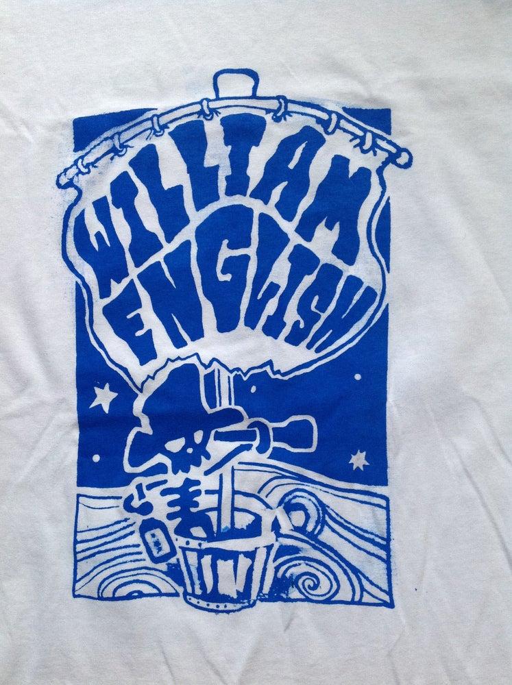 Image of William English - Riffs Ahoy Tee - free cd