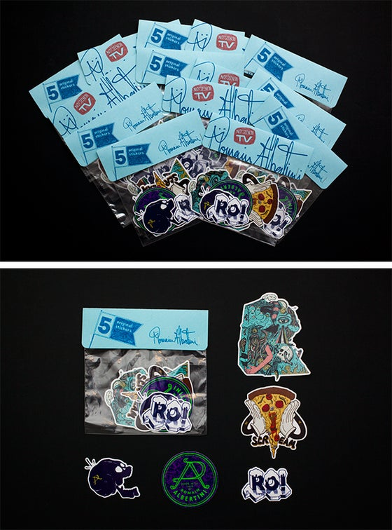 Image of Misc Hand Drawn Stickers