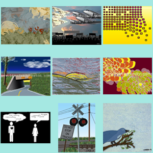"""Image of Digital Prints (10"""" x 8"""" in 14"""" x 11"""" frame)"""