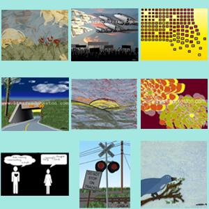 """Image of Digital Prints (14"""" x 11"""" in 20"""" x 16"""" frame)"""