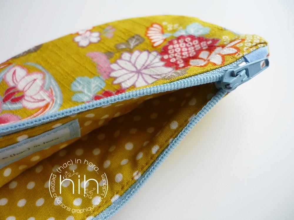 Image of pochette luna / les fleurs japonaises 29
