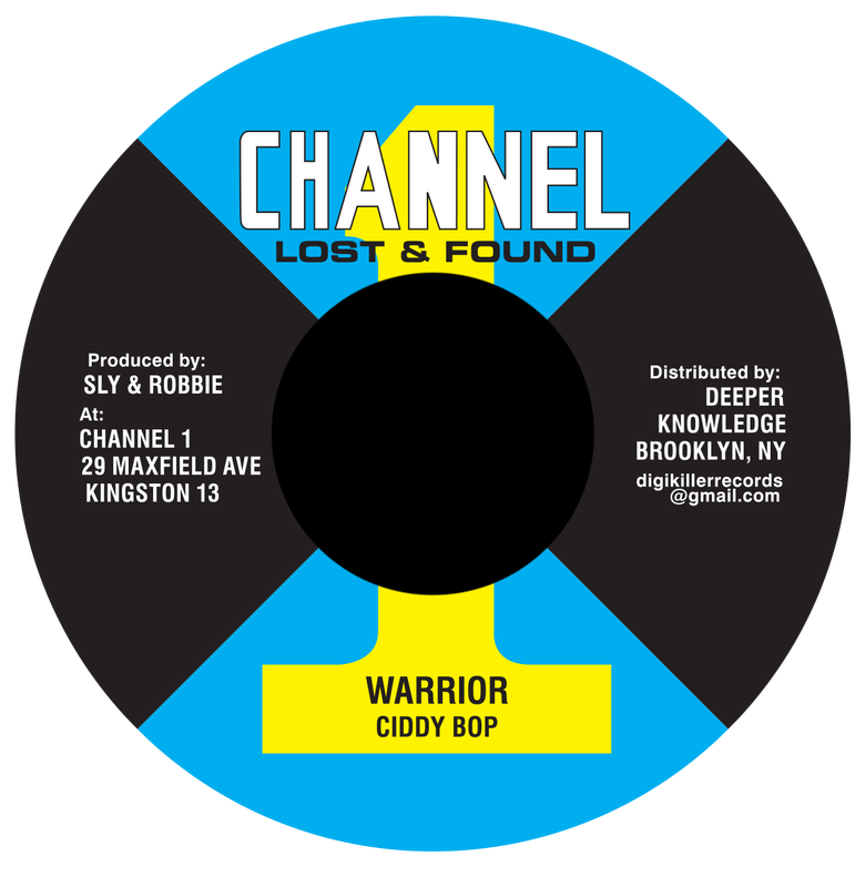 "Image of Ciddy Bop - Warrior 7"" (Channel 1)"