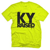 Image of KY Raised in Safety Green & Black
