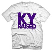 Image of KY Raised in White & Purple