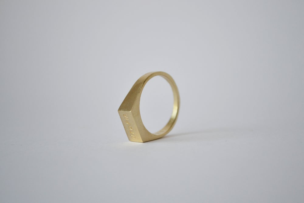 Image of Utopia Ring Gold