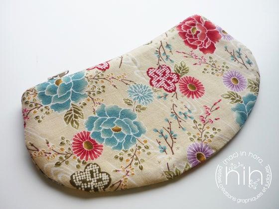 Image of pochette luna / les fleurs japonaises 11