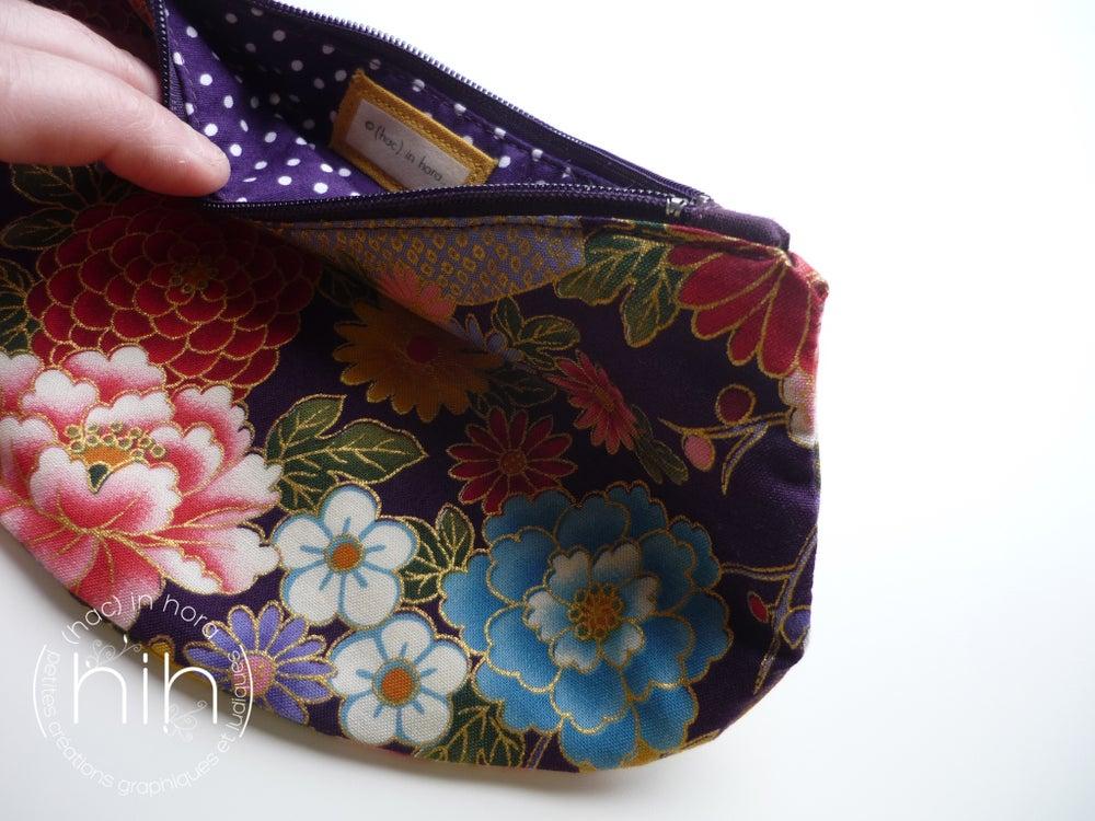 Image of pochette luna / les fleurs japonaises 9
