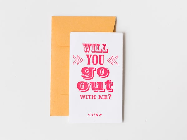 Image of Will You Go Out With Me?