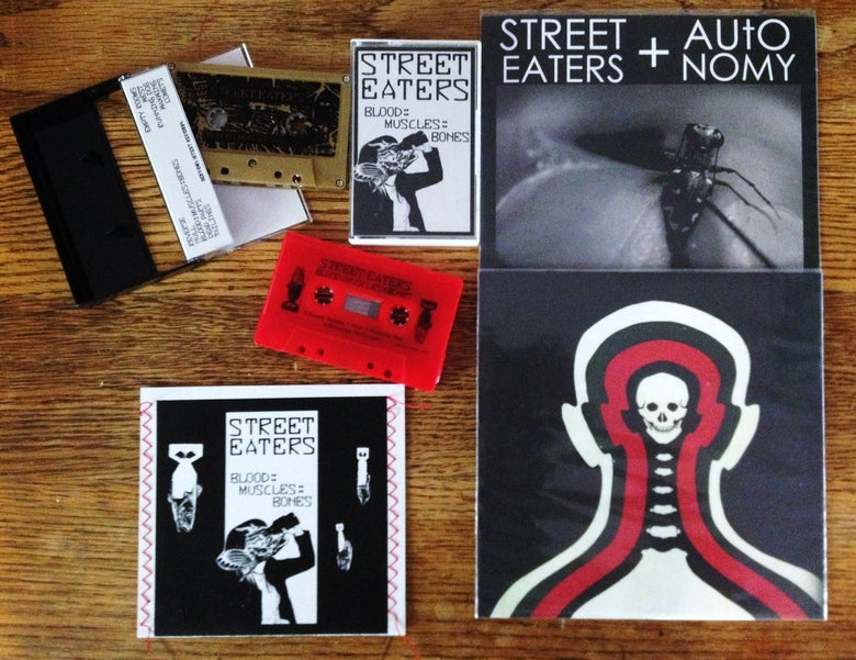 "Image of $5 Section! Blood::Muscles::Bones CD or Tape, 7"" SPLIT"