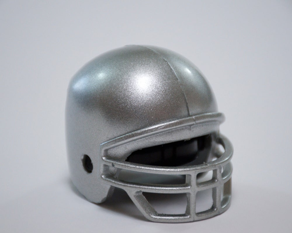 Image of Football Helmets - Solid Colors