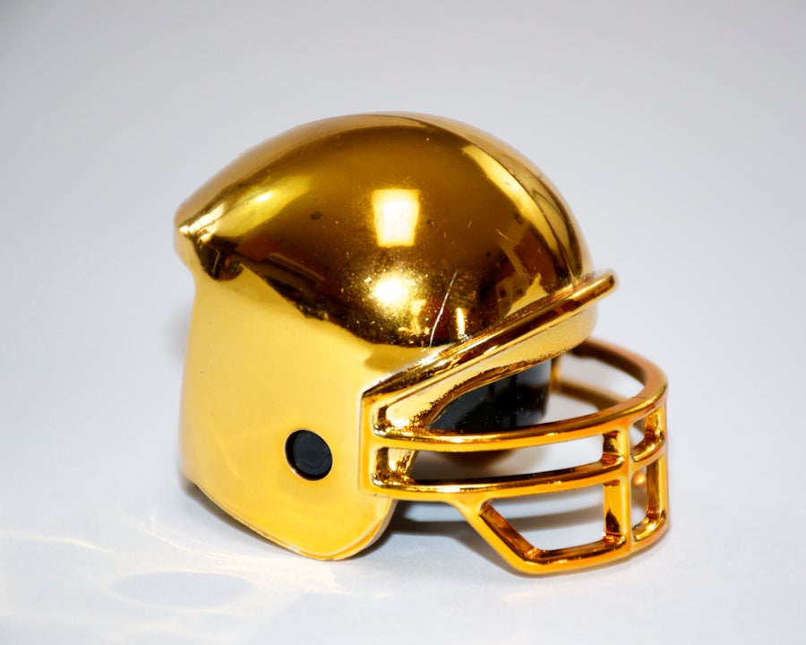 "Image of Football Helmets - ""Chrome Edition"""