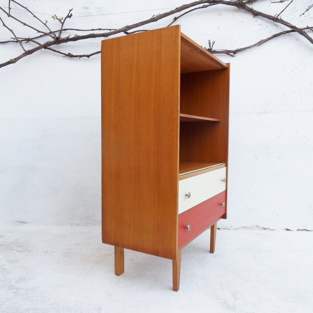 petite biblioth que vintage fibresendeco vannerie artisanale mobilier vintage. Black Bedroom Furniture Sets. Home Design Ideas