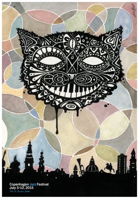 Image of Festival poster - Copenhagen Jazz Festival 2015