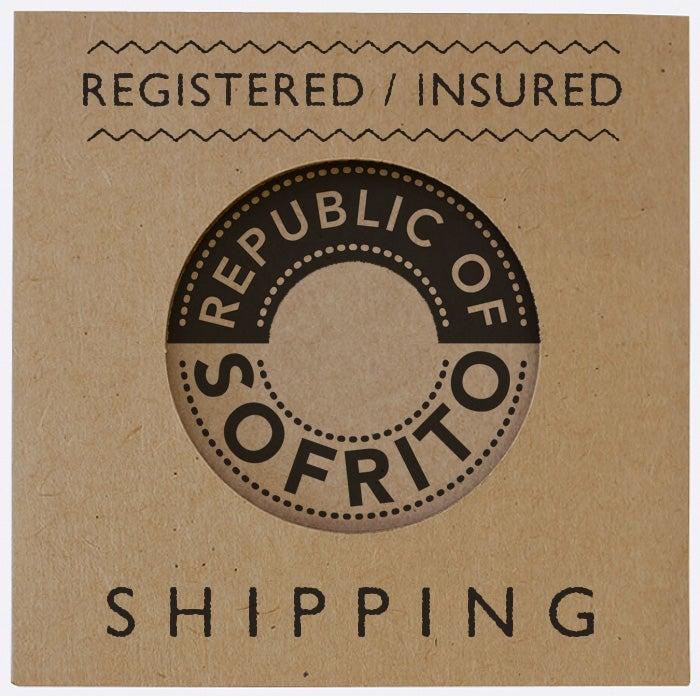 Image of REGISTERED/INSURED SHIPPING