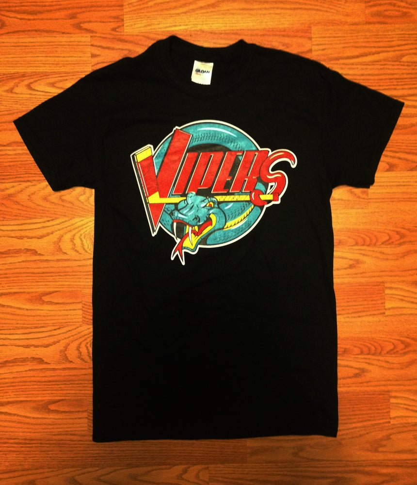 Image of Detroit Vipers T-Shirt Black