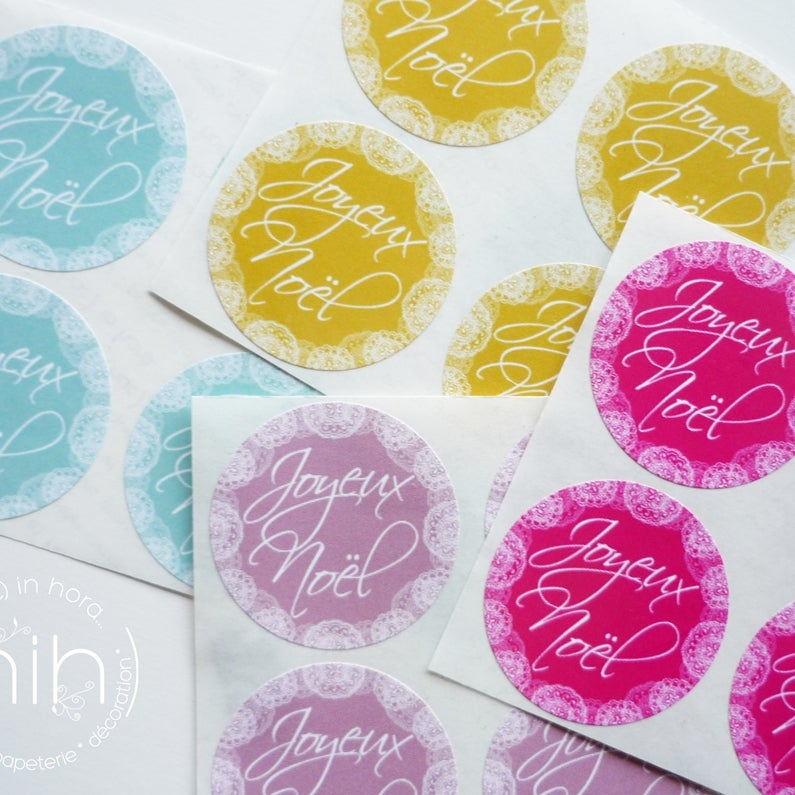 Image of stickers ⌘DoiLy⌘ 'Joyeux Noël'