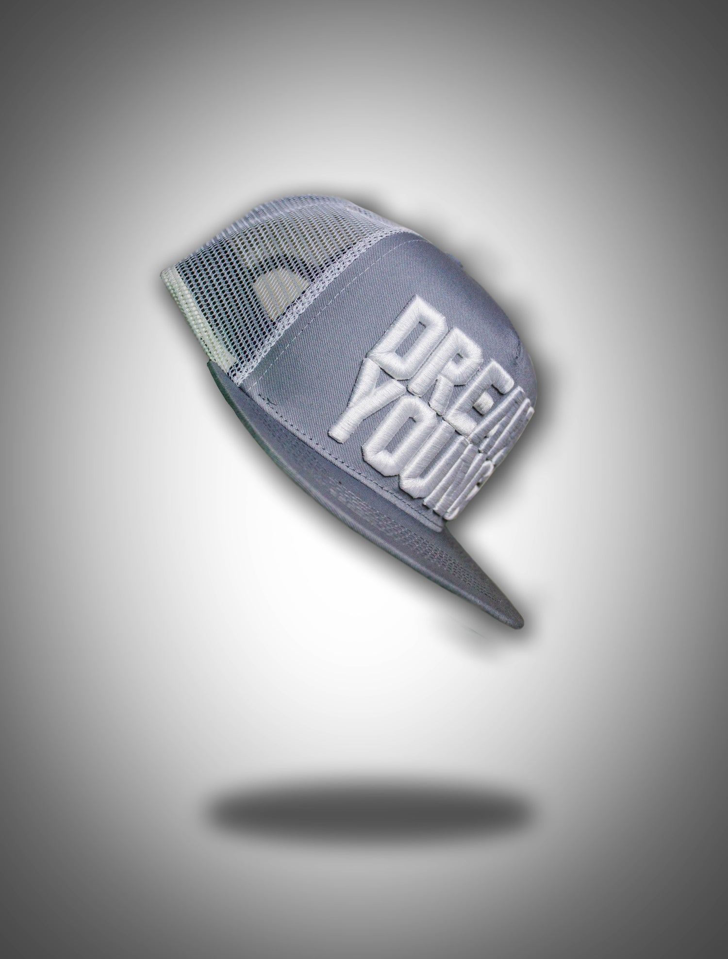 Image of Grey/White DreamYoung Trucker