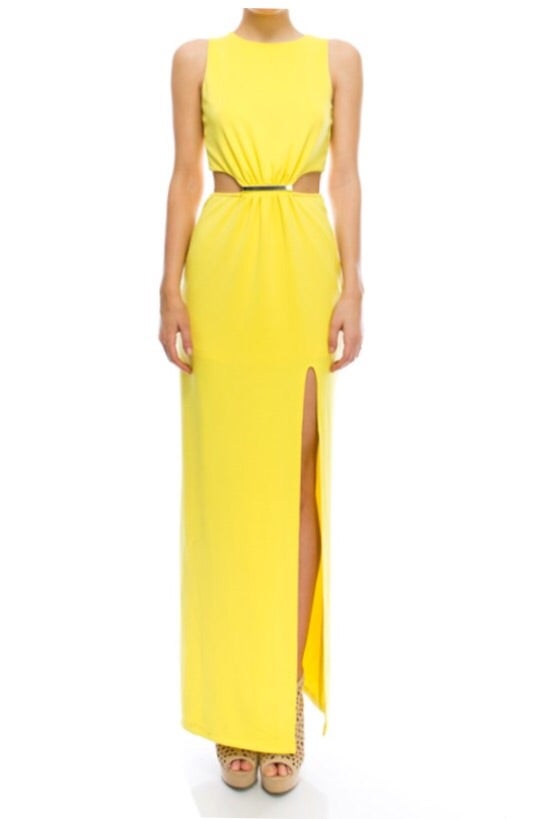 Image of Mellow Yellow Maxi