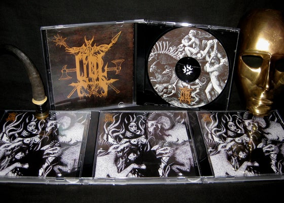Image of GOL - HABIT ENTWINED IN HORNS CD
