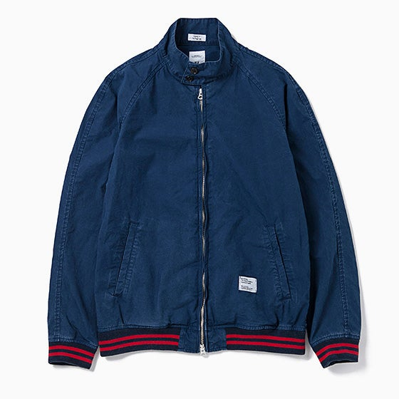"Image of BEDWIN ""Thompson"" Drizzler Jacket - NAVY"