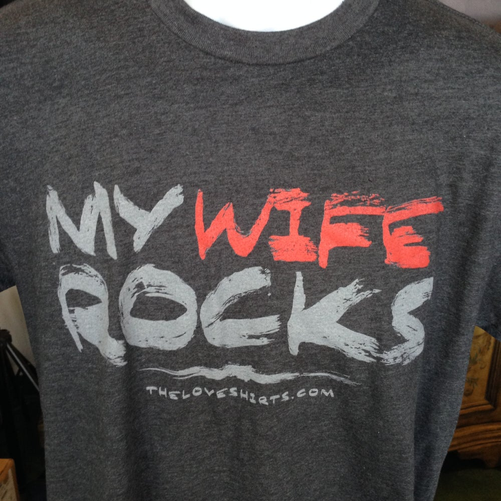 Image of My Wife Rocks (the paint stroke)