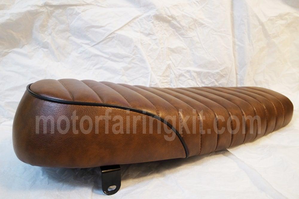 Image of Cafe Racer Brat Seat - Retro Classic