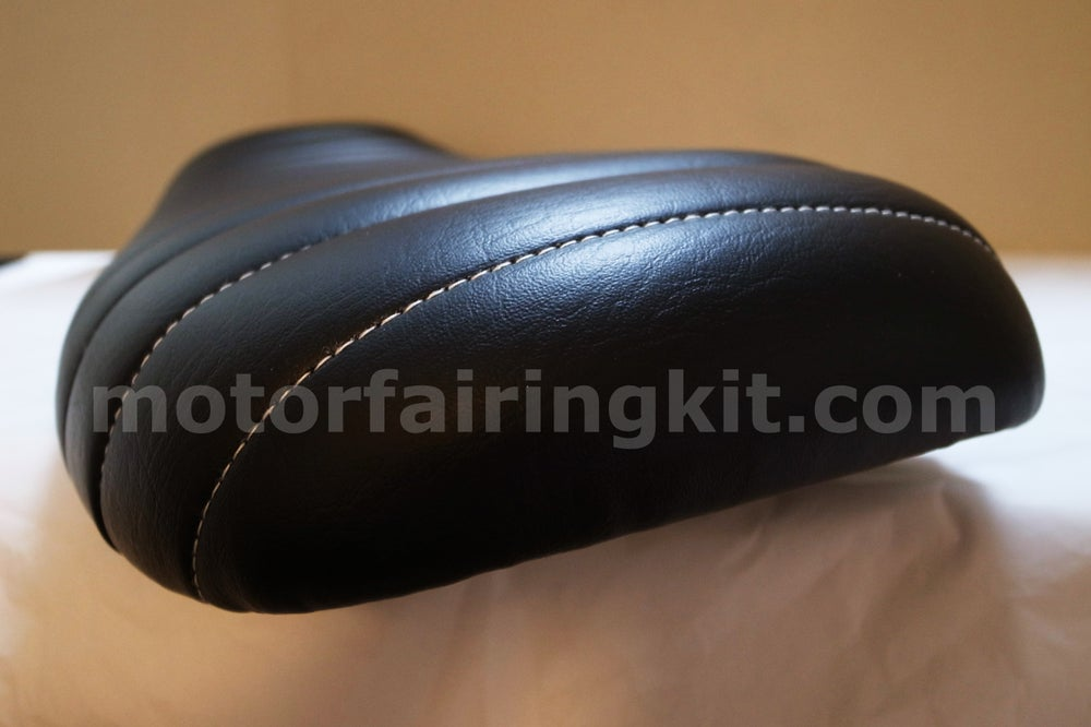 Image of Honda CG125 Seat - Classic Brat Seat