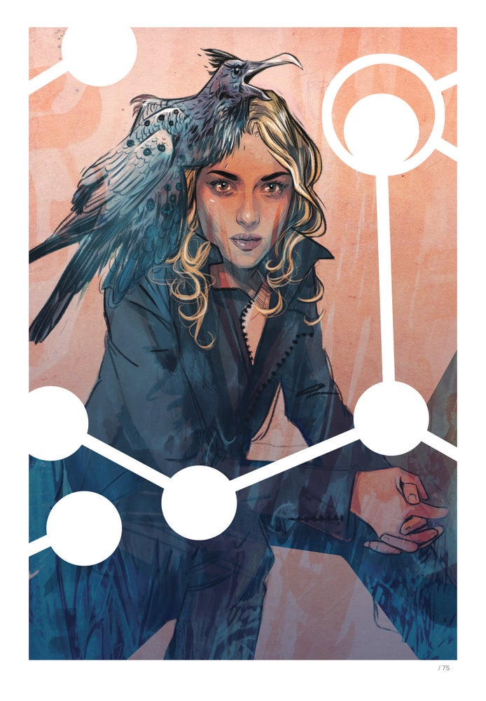 Image of Supreme Blue Rose #1 - Limited Edition Indigo Print