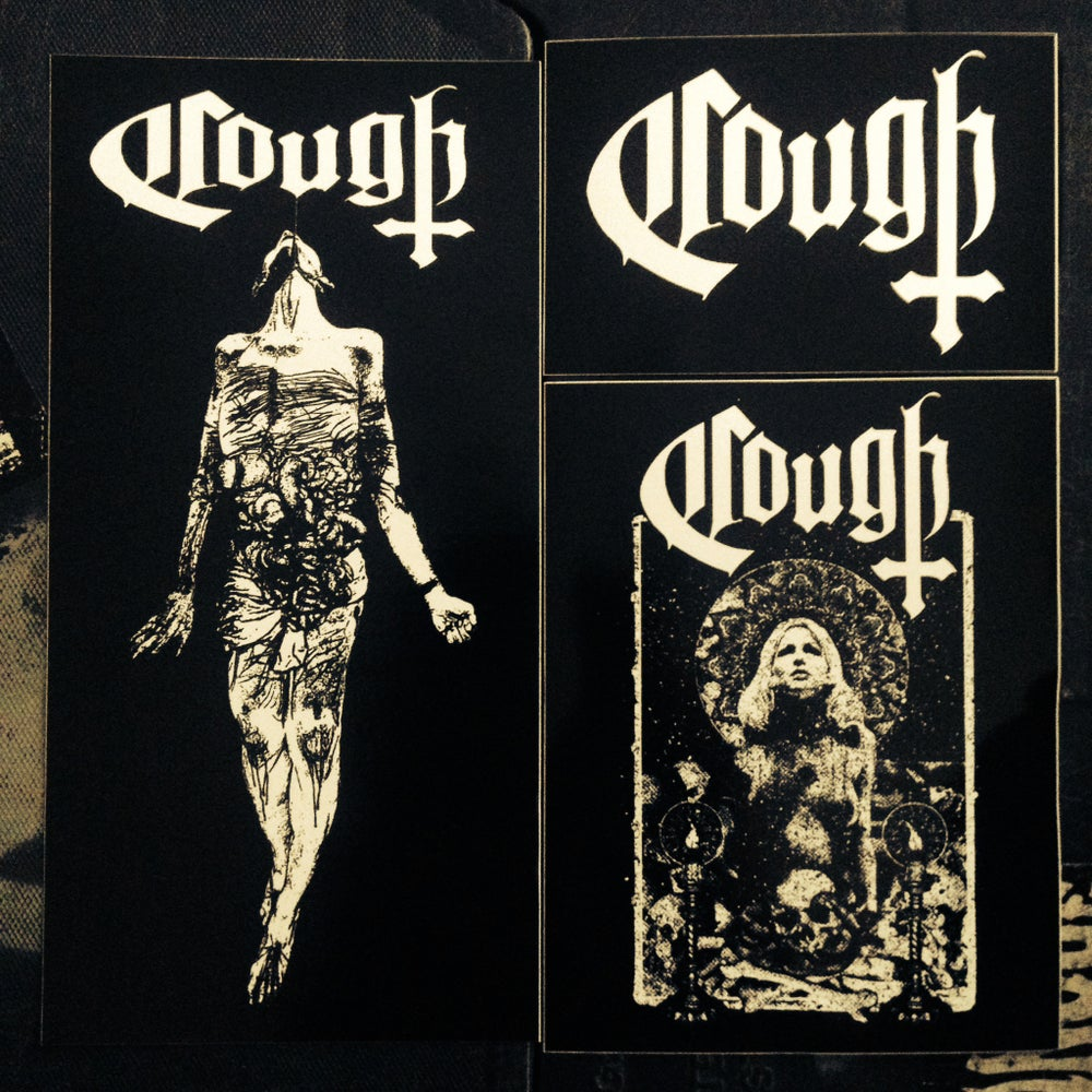 Image of COUGH - STICKERS