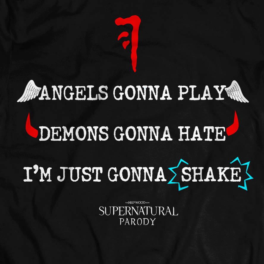 Image of SUPERNATURAL PARODY LYRICS TEE