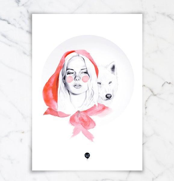 "Image of ""Rødhette og ulven"""