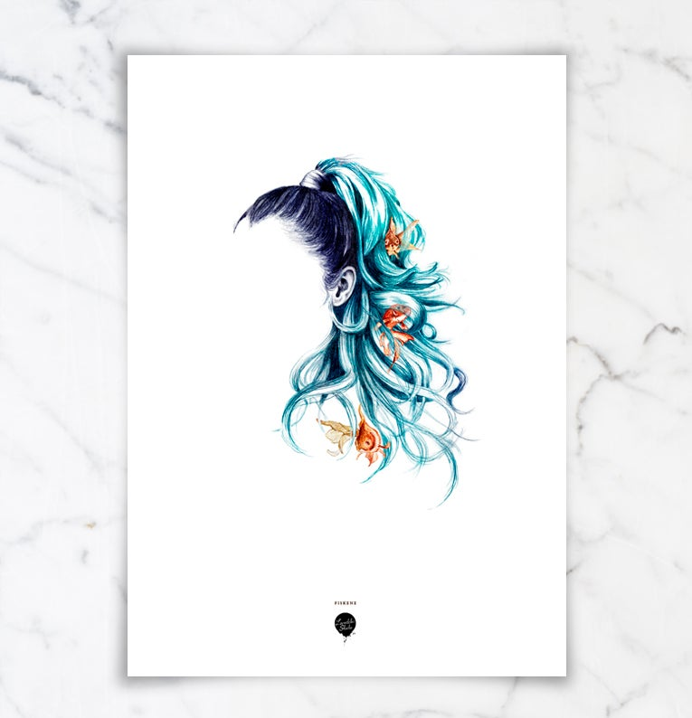 """Image of """"Fiskene"""" / """"Pisces"""""""