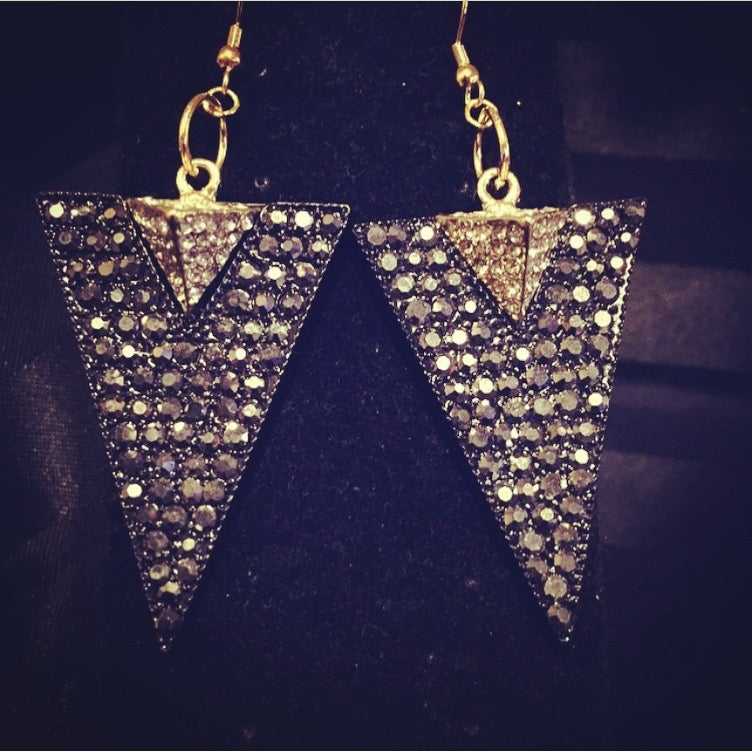 Image of Egytian Pyramid Earrings