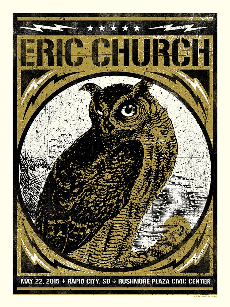 Image of Eric Church, Rapid City, SD