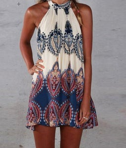 Image of Hot cute vest dress totem dress