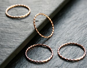 Image of Rose Gold twister