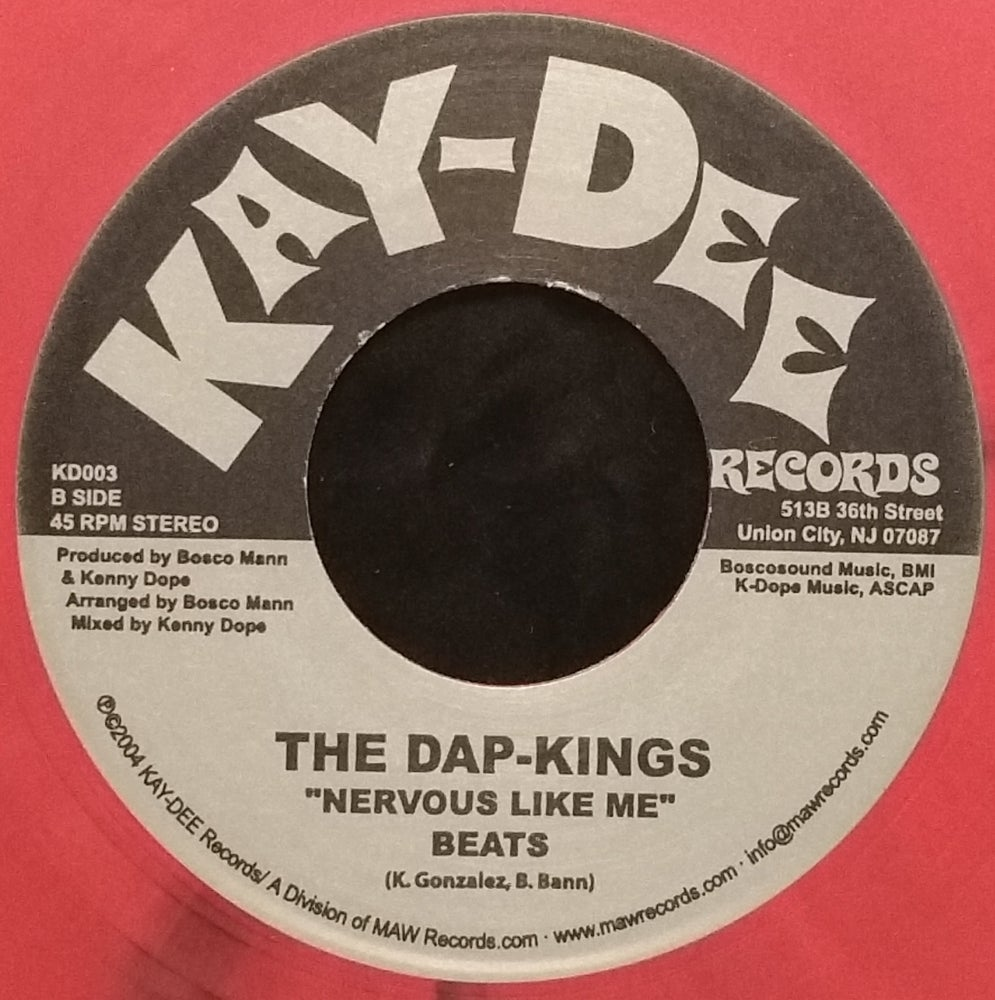 Image of KD-003 THE DAP KINGS LIMITED EDITION PINK MULTI