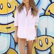 Image of Striped Button Up