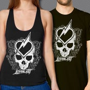 Image of LOVEBLAST Heart & Skull (T-shirt or Tank Top)