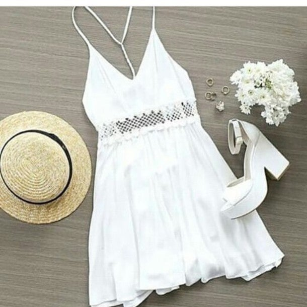 Image of Hot cute lace dress