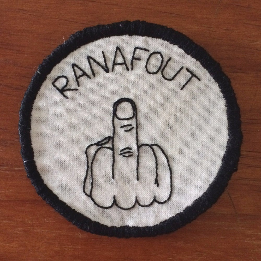 """Image of Patch """"RANAFOUT"""""""