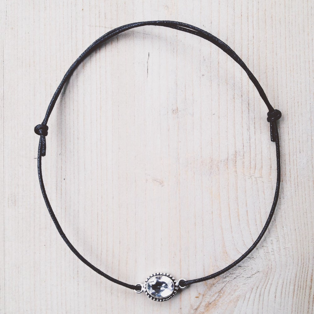 Image of White Topaz Choker - LIMITED