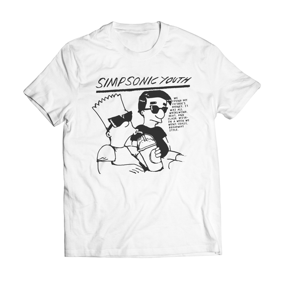 Image of Simpsonic Youth White T-Shirt