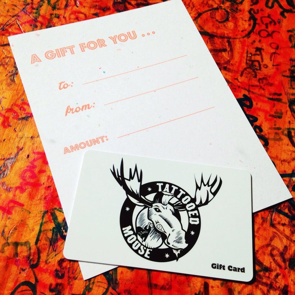 Image of Tattooed Moose Gift Card