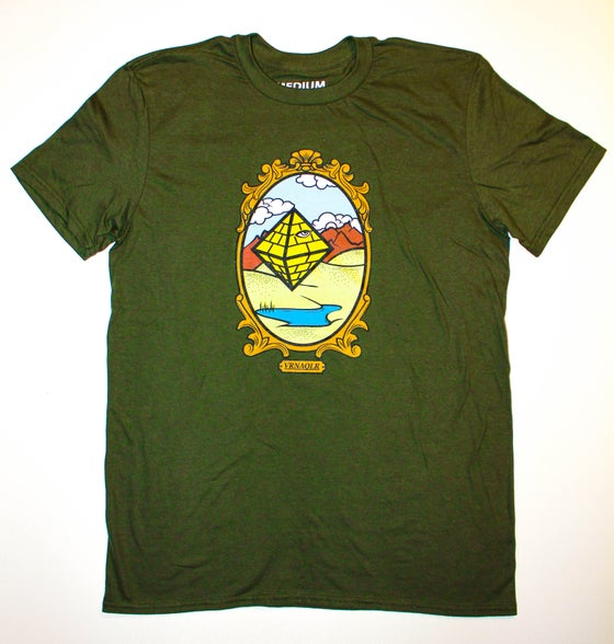 Image of Army Green Flying Pyramid
