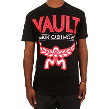 Image of MCM Tee (Black/Red/White)