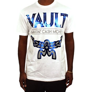 Image of MCM Tee (White/BlueFoil)