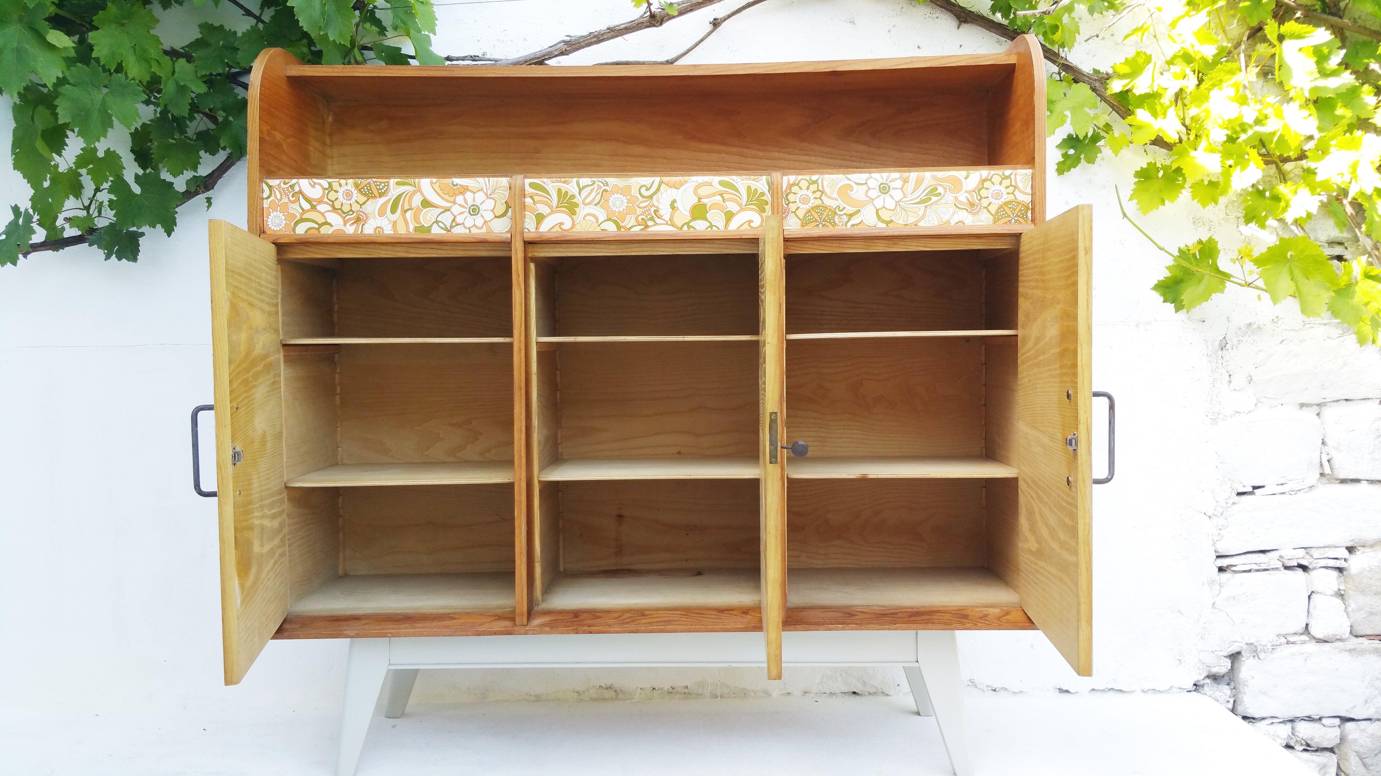 Buffet de cuisine en bois meubles cuisine palettes bois - Comptoir de famille boulogne billancourt ...